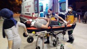 50 metre sürüklenen motosikletin sürücüsü ağır yaralandı - Bursa Haberleri