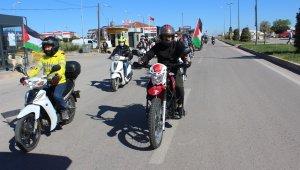 500 araç ile Kudüs'e destek konvoyu