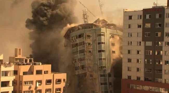 """ABD, """"İsrail'in vurduğu medya binasında Hamas'a dair bir kanıt görmedik"""""""