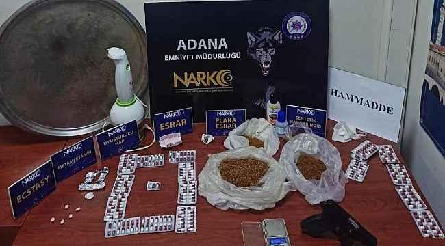 Adana'da Nisan ayında 8 kilo bonzai ele geçirildi