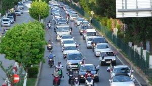 Adıyaman'da, Kudüs konvoyu düzenlendi