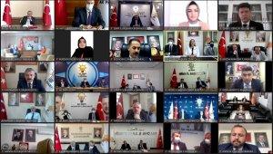 AK Parti İzmir İl Başkanı Sürekli'den başkanlar toplantısında Filistin mesajı