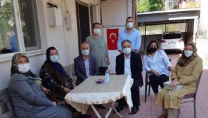 AK Parti, Şehit aileleri ile bayramlaştı