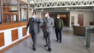 Ali İhsan Kabakcı tesis ve yurt ziyaretlerine devam ediyor