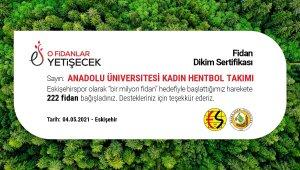 Anadolu Üniversitesinden Eskişehirspor'a bir önemli destek daha