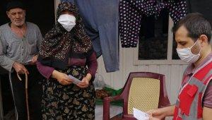 Aslanapa'da vefa sosyal destek ekipleri vatandaşların ihtiyaçları için çalışıyor