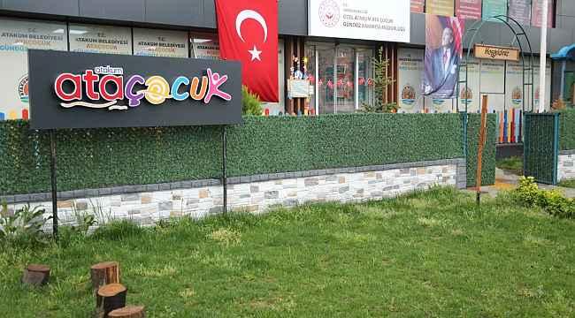AtaÇocuk'un kapıları sağlıkçıların çocuklarına açıldı