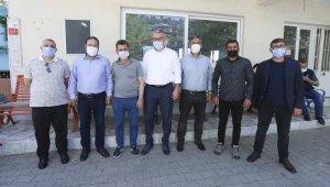 Aydın Büyükşehir Belediyesi'nden Efeler muhtarlarına ziyaret