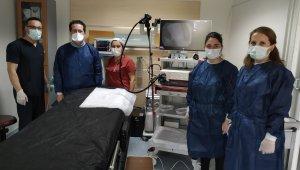 Aydın Kadın Doğum Hastanesi'nde Endoskopi Ünitesi açıldı