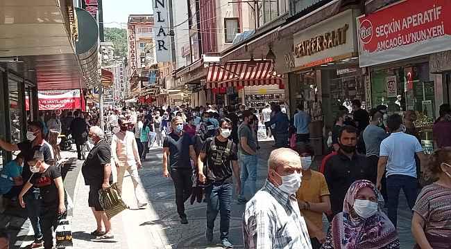 Aydın'da tam kapanma sonrası yoğunluk yaşandı