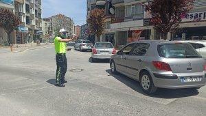 Bafra'da şehir merkezinde denetimler sıklaştı