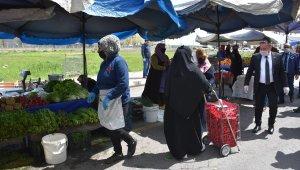 Bağlar'da 8 pazar yeri cumartesi günü hizmet verecek