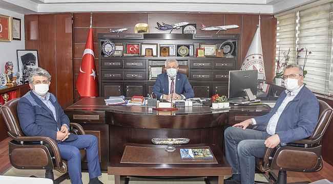 """Başkan Özkan: """"Sağlık çalışanlarımıza destek oluyoruz"""" - Bursa Haberleri"""