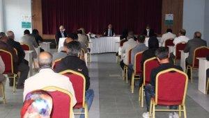 Başkan Pekmezci, değerlendirme toplantısı düzenledi