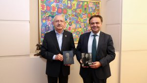 Başkan Şahin'den CHP Genel Başkan Kılıçdaroğlu'na ziyaret