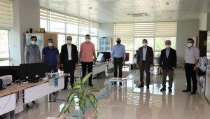 Başkan Üçok, personeliyle bayramlaştı