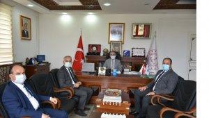 Başkan Yaman'dan İl Müdürü Akyol'a ziyaret