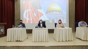 Battalgazi Belediye meclisi İsrail zulmünü kınadı
