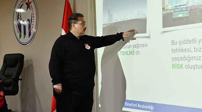 Belediye personeline afet farkındalık eğitimi - Bursa Haberleri