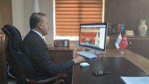 BEÜ Rektörü Elmastaş '2021 Engelsiz Üniversite Ödülleri' törenine katıldı
