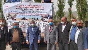 Bitlis'te sertifikalı kuru fasulye tohumu dağıtımı