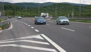 Bolu Dağı'nda bayram tatili dönüşü trafik akıcı ilerliyor