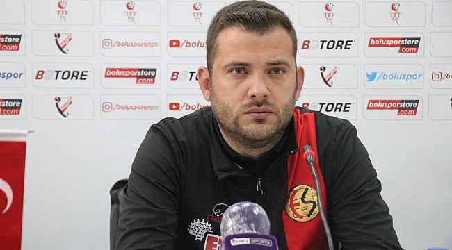 Boluspor - Eskişehirspor maçının ardından