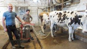 Burhaniye'de süt satışları arttı