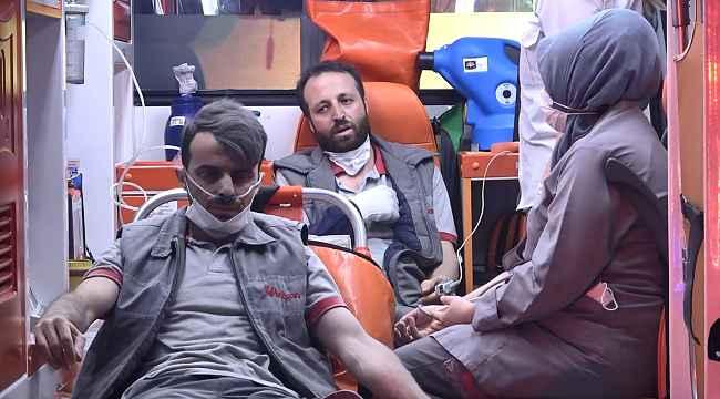 Bursa'da kauçuk fabrikasında korkutan yangın: 6 işçi hastaneye kaldırıldı - Bursa Haberleri