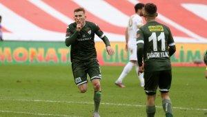 Bursaspor'un 35 golünde üç isim ön plana çıktı - Bursa Haberleri