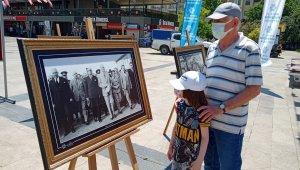Büyükşehir'in Atatürk sergisi ilgi odağı oldu