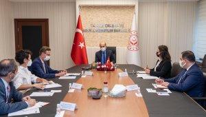 Çalışma ve Sosyal Güvenlik Bakanı Bilgin, Büyükelçi Meyer-Landrut ile görüştü