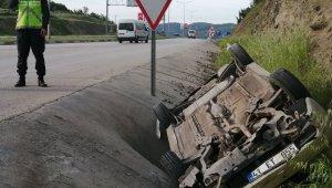 Çan'da trafik kazası : 3 yaralı