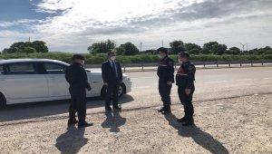 Çanakkale Valisi Aktaş'tan Ayvacık'ta Jandarma Uygulama Noktasına Denetim
