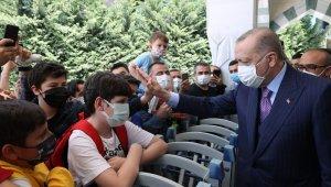 """Cumhurbaşkanı Erdoğan Kovid aşıları patentiyle ilgili: """"Bunu biz ürettik, dolayısıyla kimseye vermeyiz"""" gibi bir mantık yanlış bir yaklaşımdır"""""""