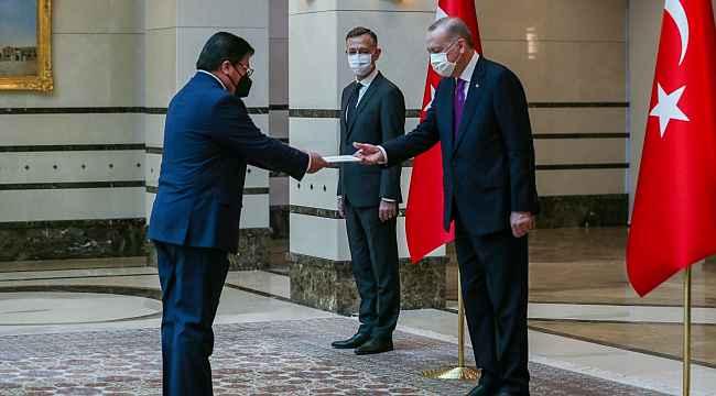 Cumhurbaşkanı Erdoğan, Şili Büyükelçisini kabul etti