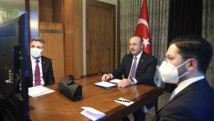 Dışişleri Bakanı Çavuşoğlu, Almanya İçişleri Seehofer'le görüştü