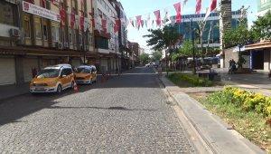 Diyarbakır'da tam kapanma sessizliği