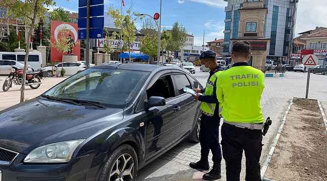 Emirdağ'da 'Karayolları Trafik Haftası' etkinliklerle kutlandı