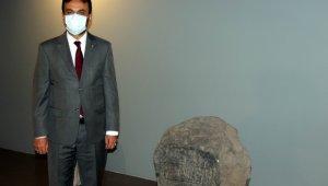 Erciyes Dağı'nın 2 bin 800 yıl önceki isminin yazıldığı yazıt Kayseri Müzesi'nde
