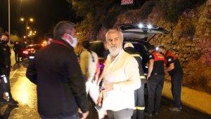 Eski Milletvekili Süleyman Bölünmez alev alev yanan araçtan canını zor kurtardı