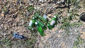 Eskişehir Orman Bölge Müdürlüğü'nden ormanlık alanlara atılan çöplere tepki