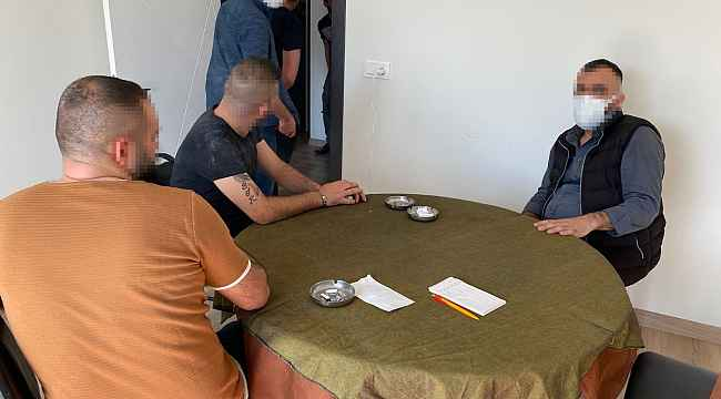 Evi kumarhaneye çeviren 14 kişiye 44 bin 100 TL ceza