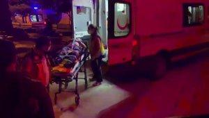 Evinin balkonundan beton zemine düşen kişi yaralandı