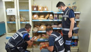 Ezine'deki zincir marketlere gıda denetimi