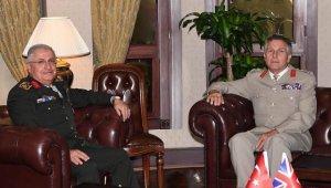 Genelkurmay Başkanı Güler, İngiltere Genelkurmay Başkanı Carter ile görüştü