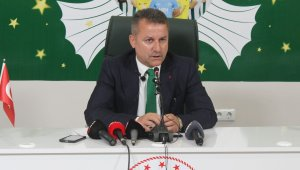"""Giresunspor Başkanı Karaahmet: """"Hakan hocayla devam etme kararı aldık"""""""