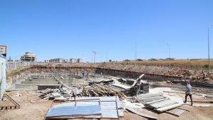 Haliliye'de inşaatlar bir bir yükseliyor