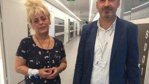 Hastaneye gitmeyi reddeden beyin kanaması olan hasta, gece yarısı operasyonuyla hayata bağlandı