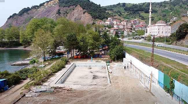 Havuz ve Aqua Park için çalışmalar hızlandı
